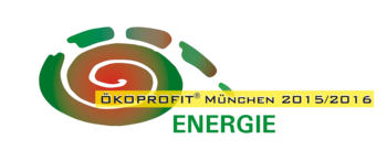 oekoprofit Logo, farbige Illustration